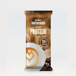 Encian proteines kávé